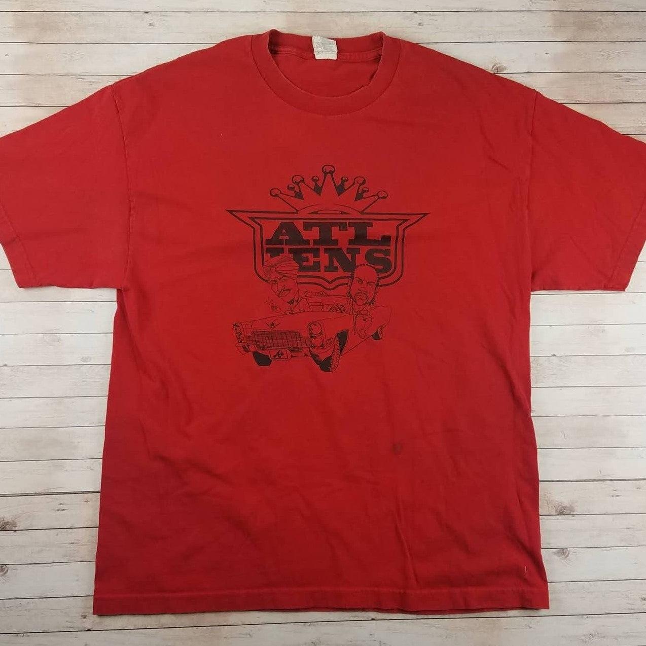 VTG 90s Outkast ATLiens Rap Tee Shirt