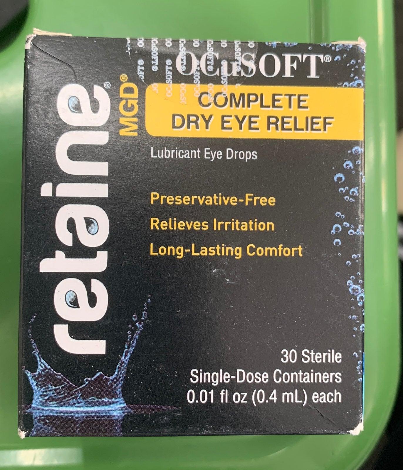 Ocusoft Retaine MGD Dry Eye Relief