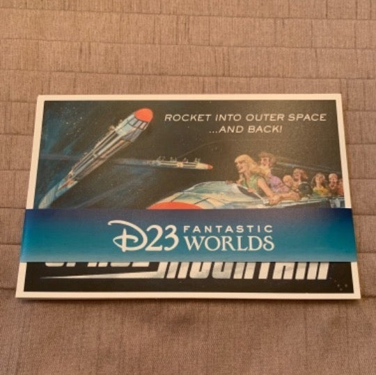 D23 Fantastic Worlds Postcard Set of 7
