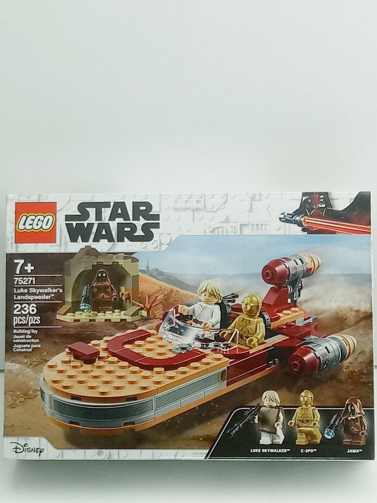 Lego Star Wars Luke Skywalker Land Speed