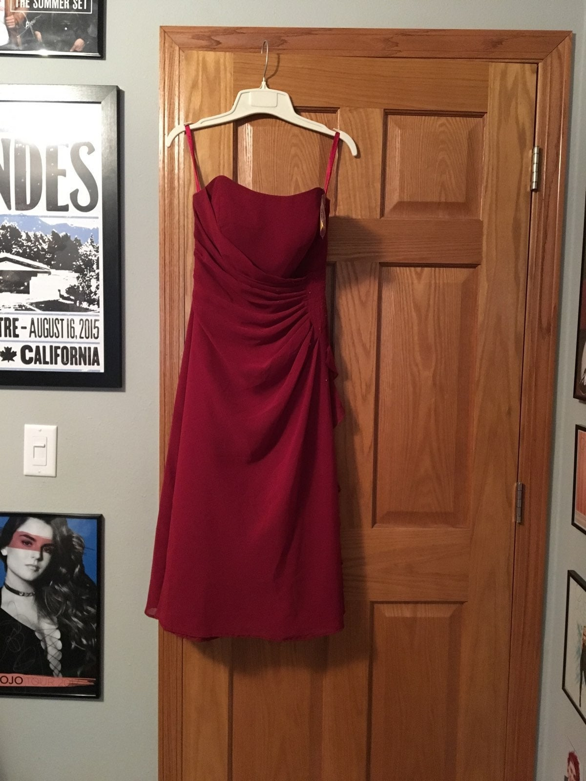 Red Formal/Bridesmaids Dress
