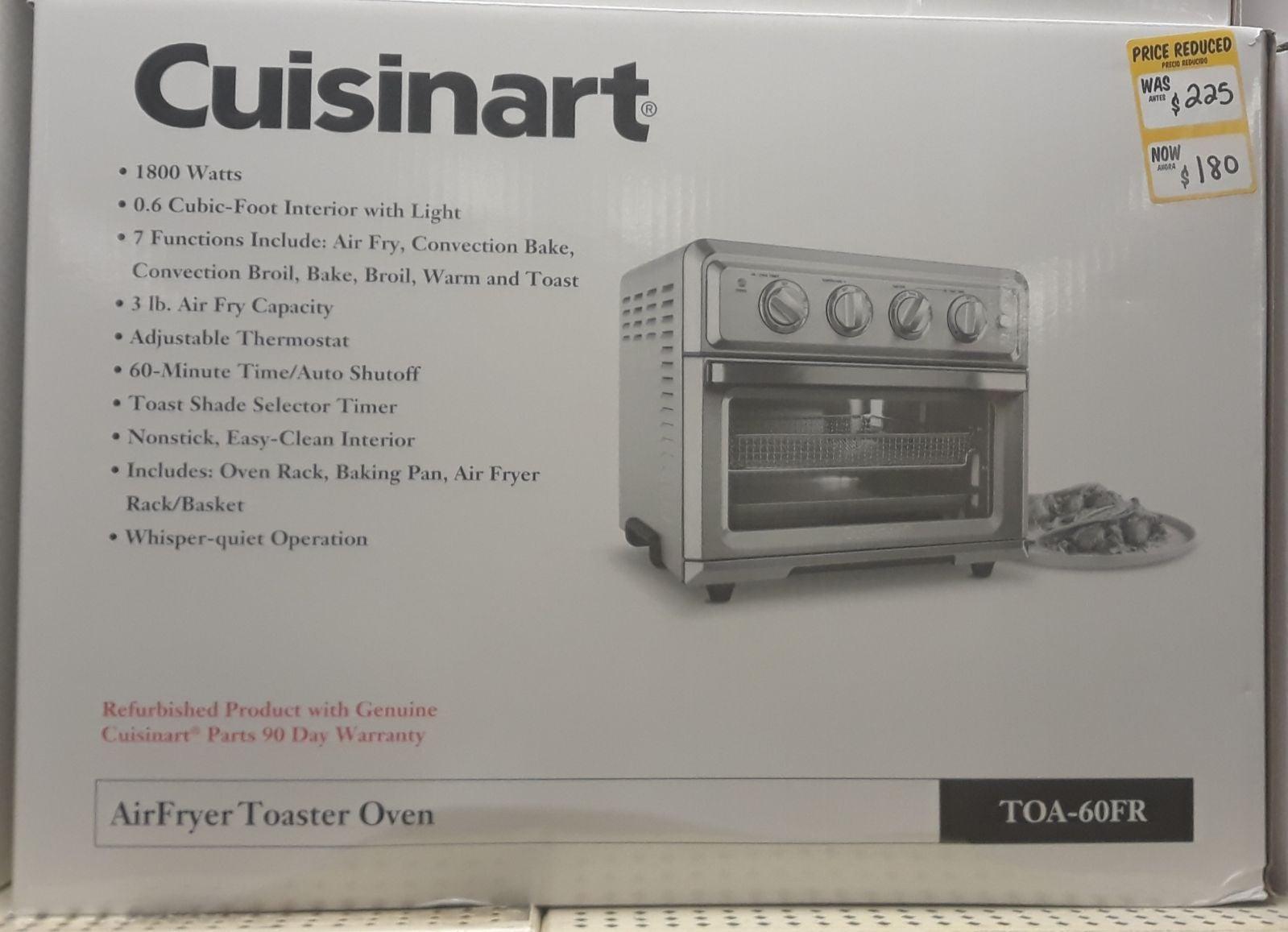 Cuisine Art Air Fryer Toaster Oven