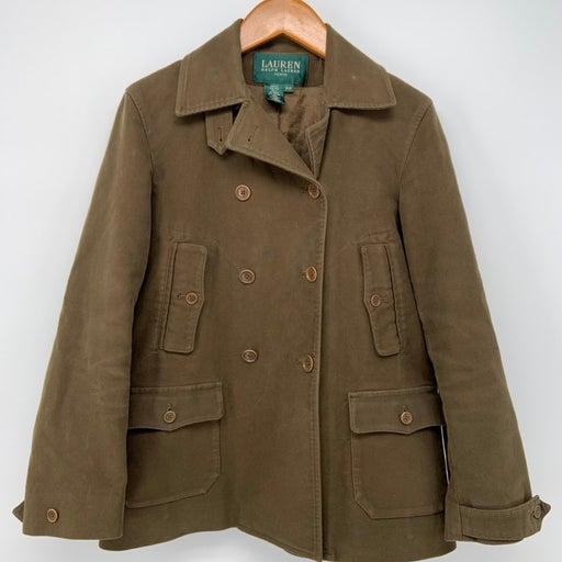 Ralph Lauren Petite PP Jacket Olive Gree