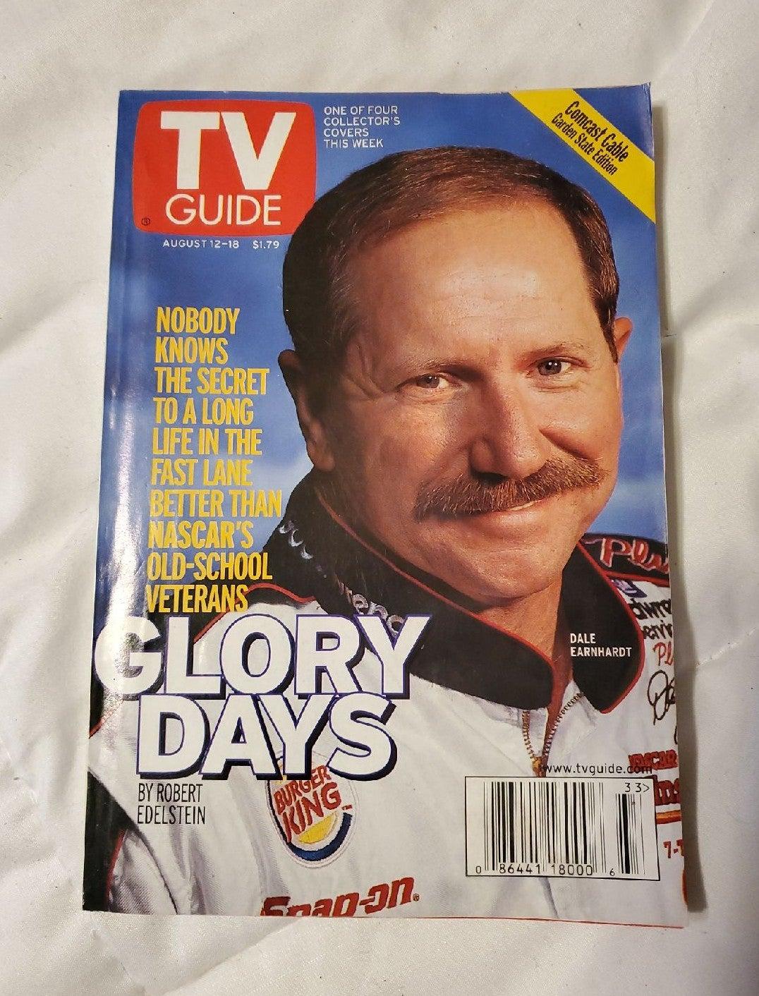 TV Guide 2002 Glory Dale Earnhardt