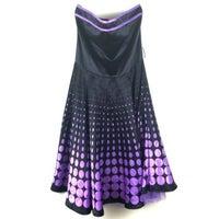 a77310e4ea6e Vintage Pinup Style Satin Polkadot dress. Ruby Rox. M