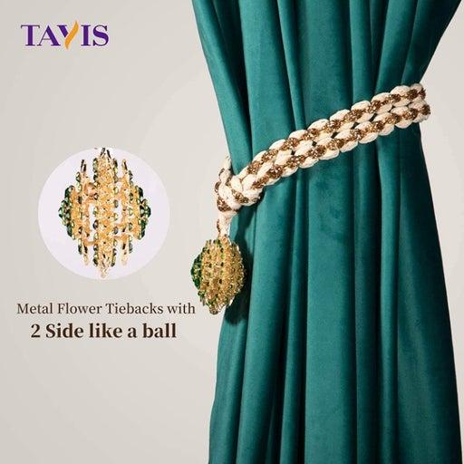 Curtain Tiebacks - Hand Weaving Co