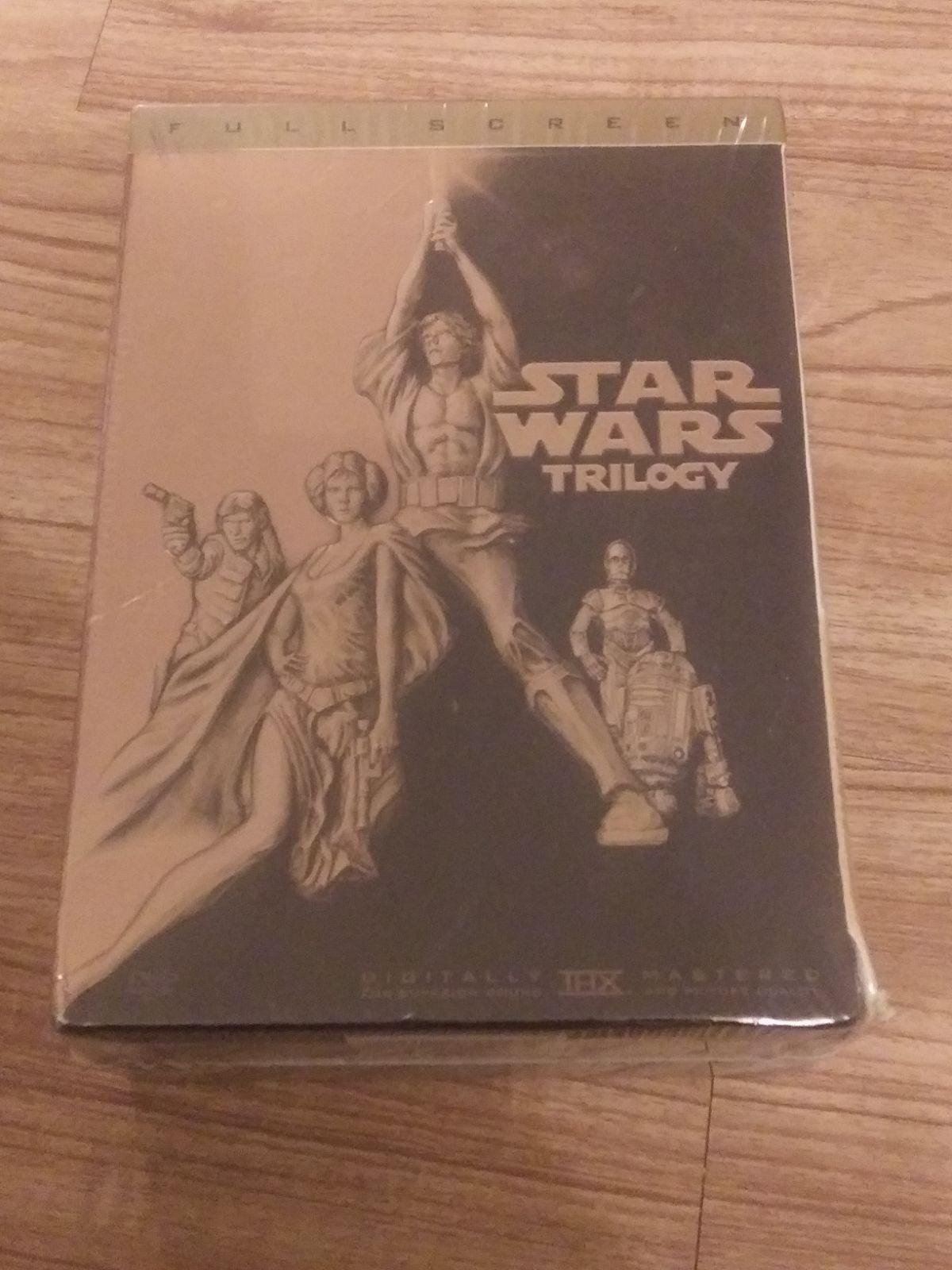 Star Wars Trilogy (DVD) BOX-SET New!