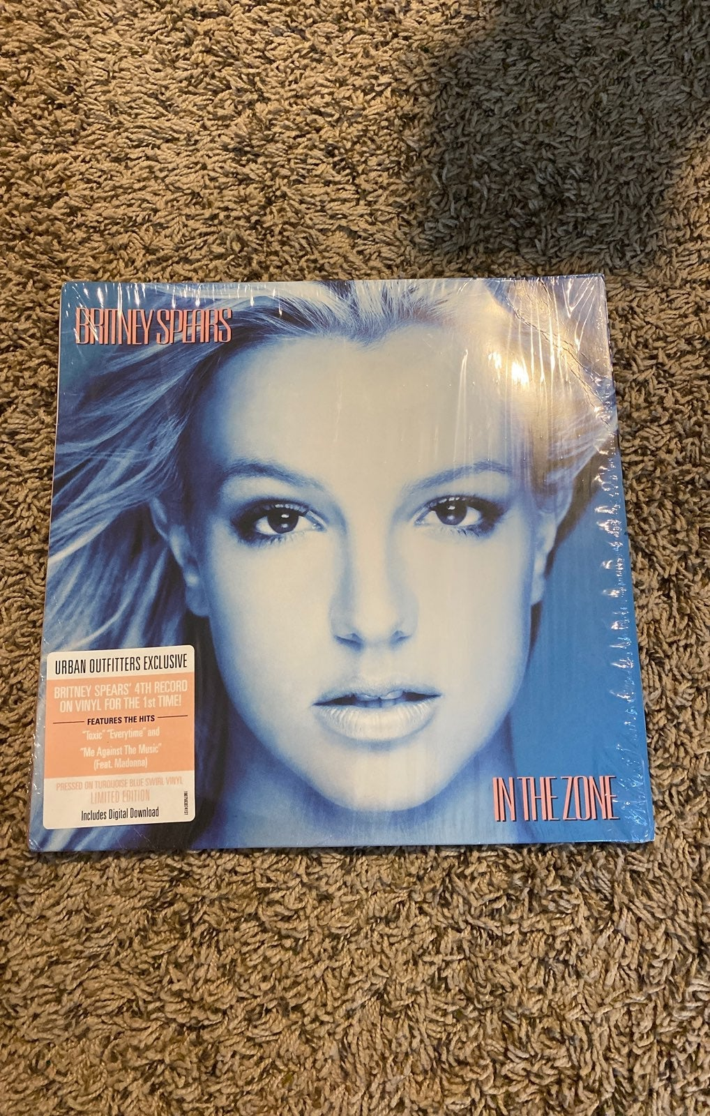 Britney spears In the zone lp record blu
