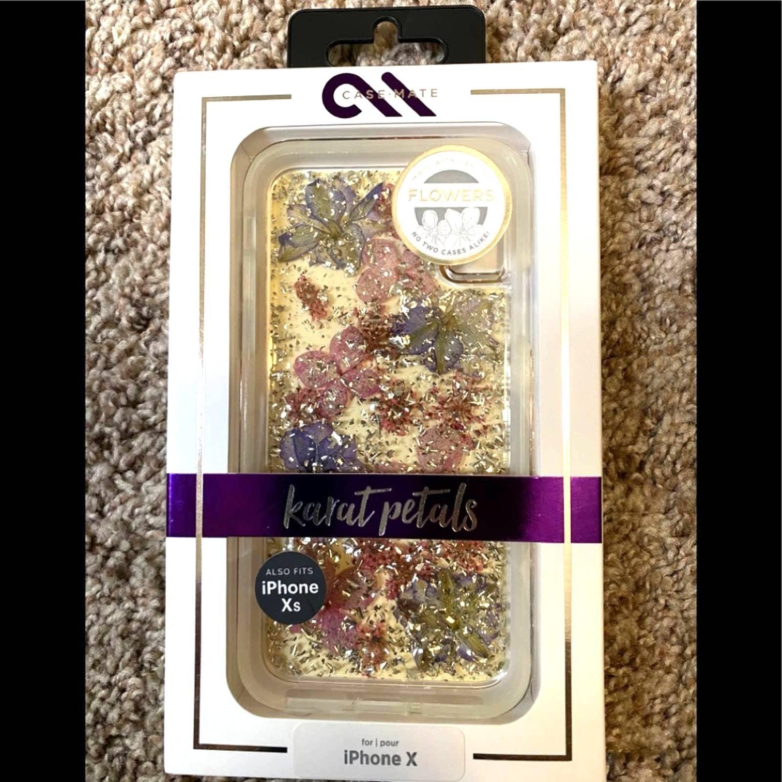 Case-mate Karat petals iPhone X/XS case