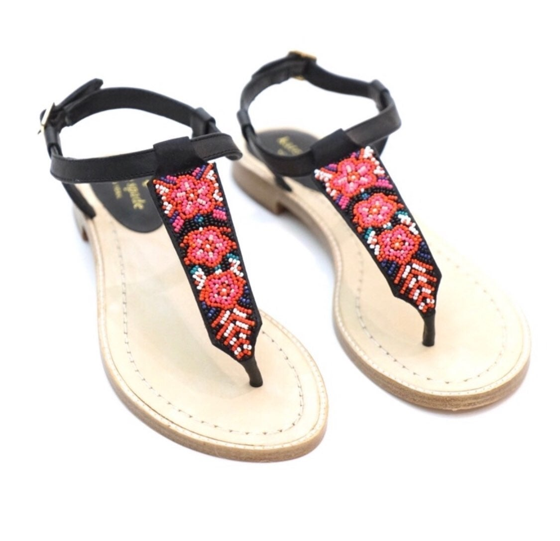 Kate Spade Beaded Sandals