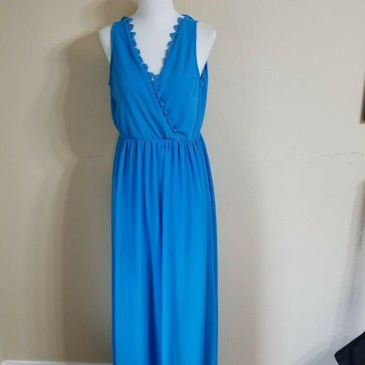 NWOT NikiBiki Maxi Dress size Small Blue