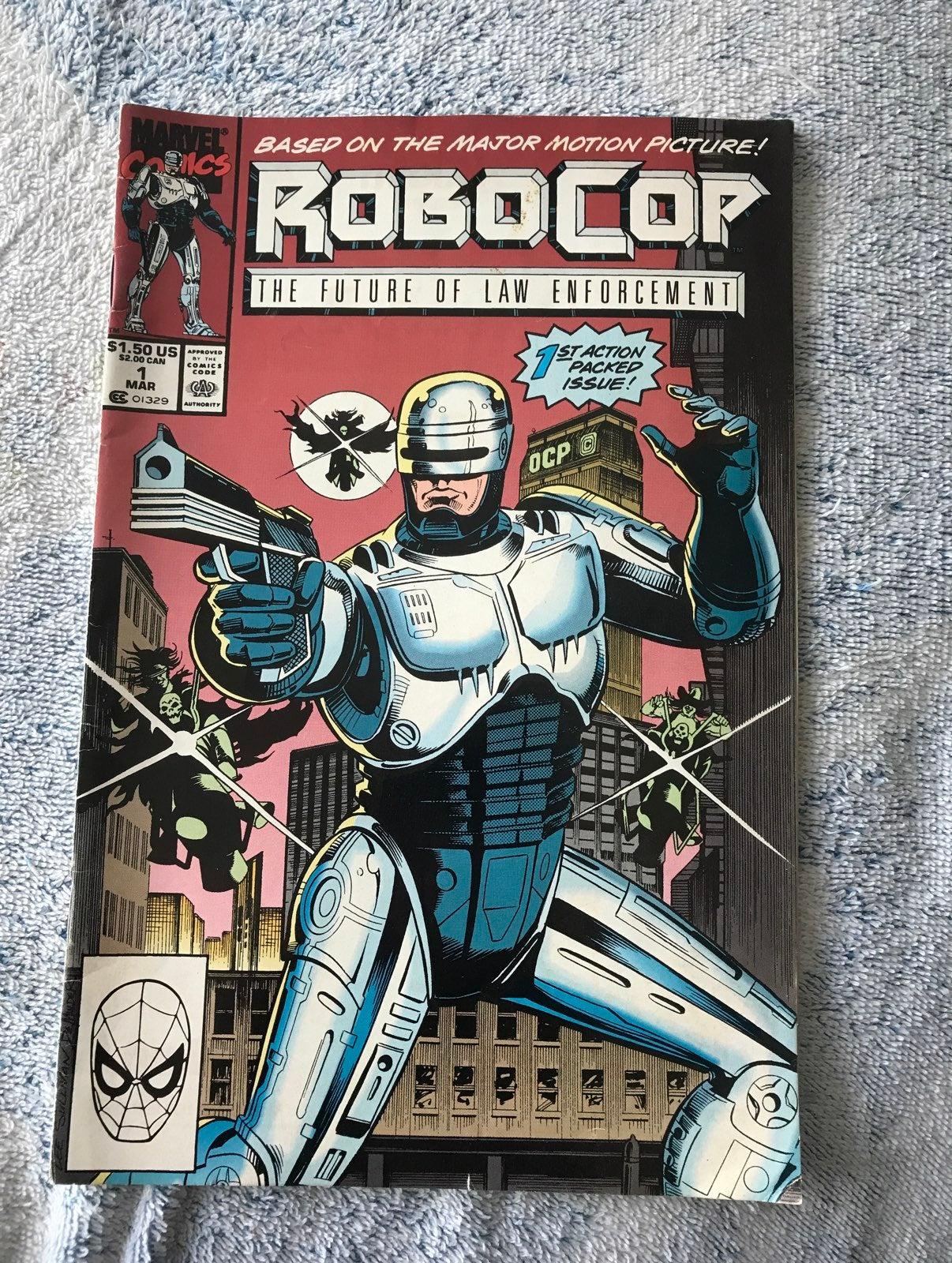 Robocop vol 1 No 1 March 1990 Comic