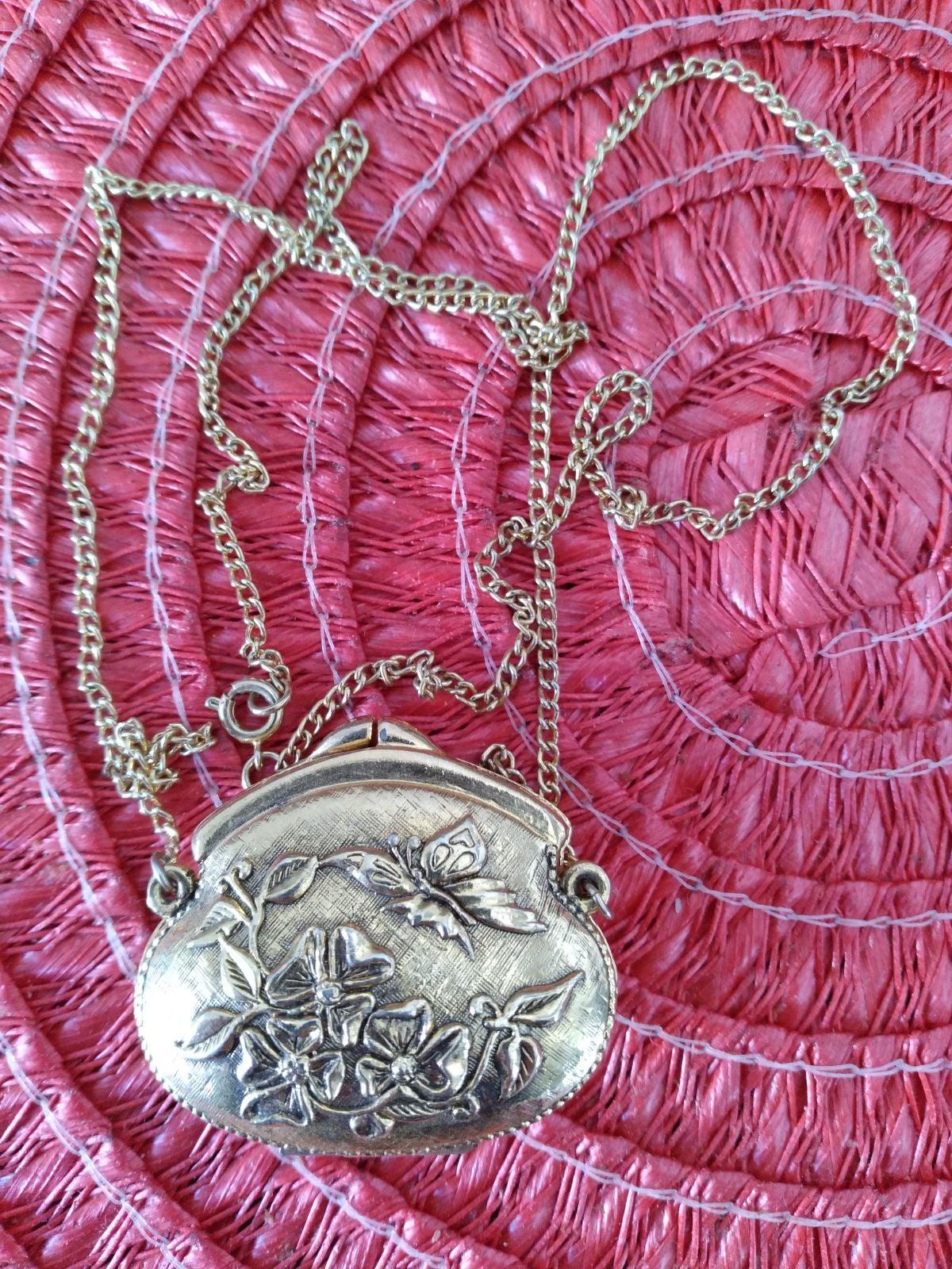 Vintage CORDAY necklace