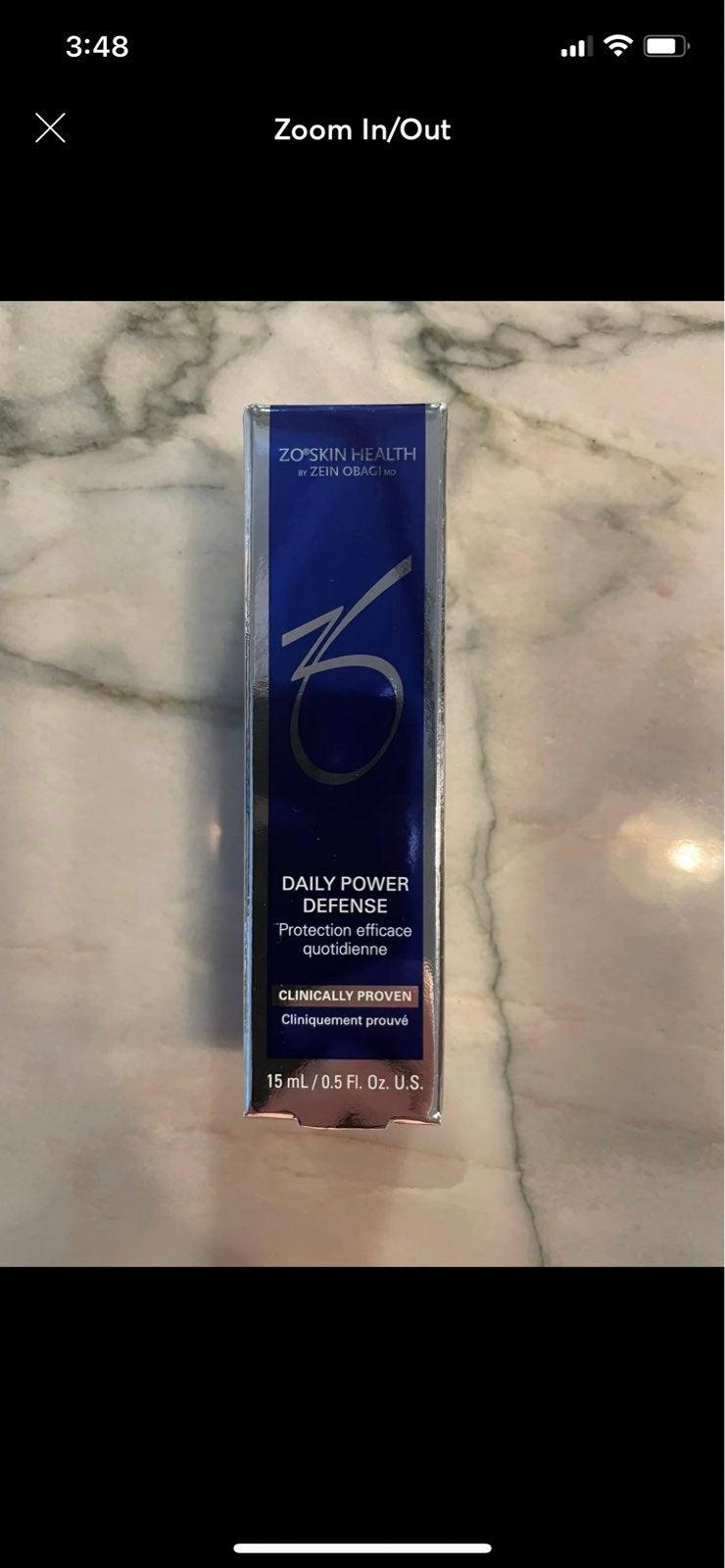 (2) ZO Skin health daily power defense