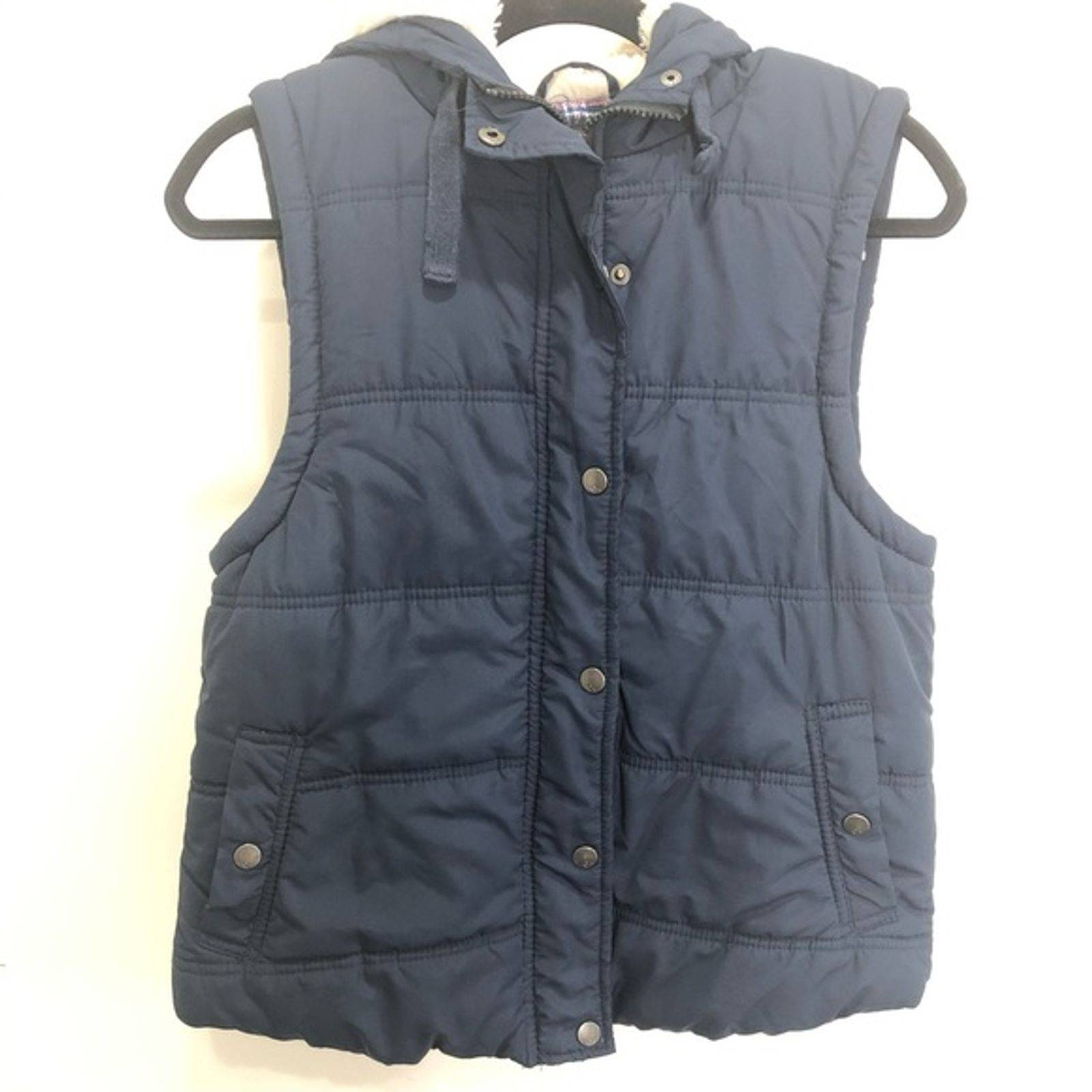 Cotton On Hooded Puffer Vest Size Medium
