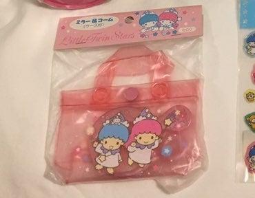 Little Twin Stars Comb Mirror Sanrio '96