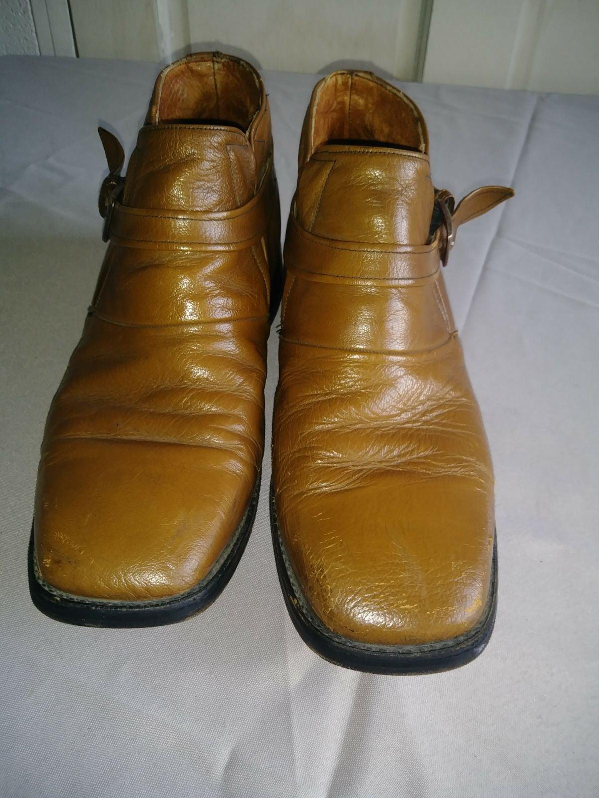 Men's Vintage Dress Boots Sz. 10