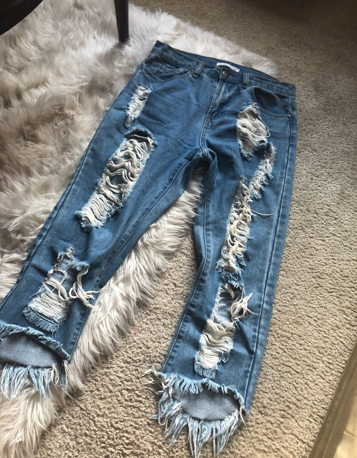 Rip jeans