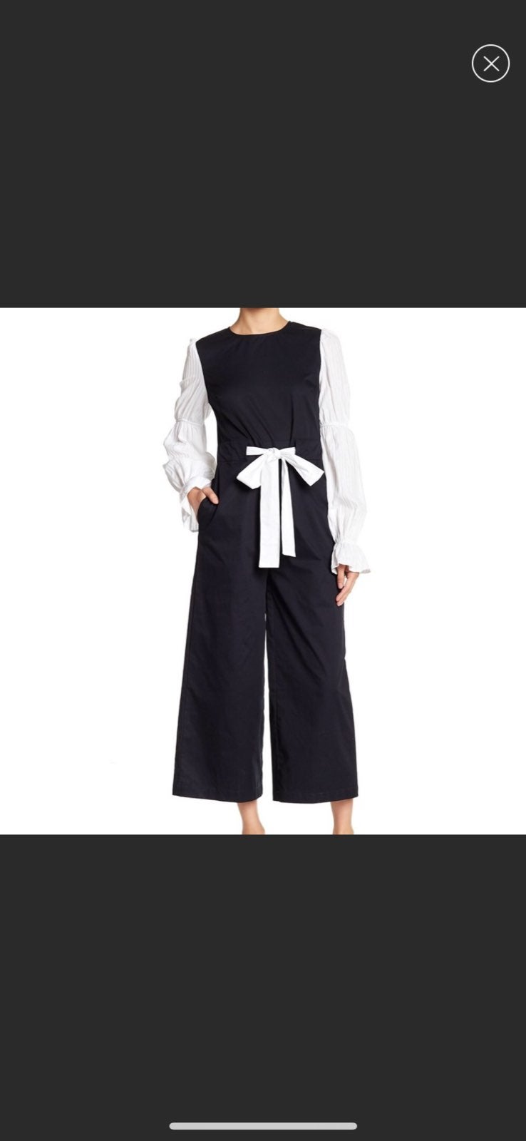 [English Factory] Puff Sleeve Jumpsuit