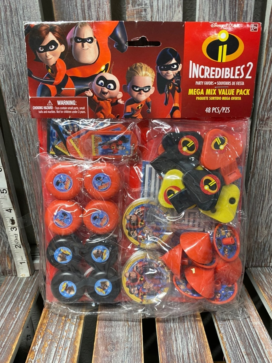 Incredibles 2 Party Favors Mega Mix Pack