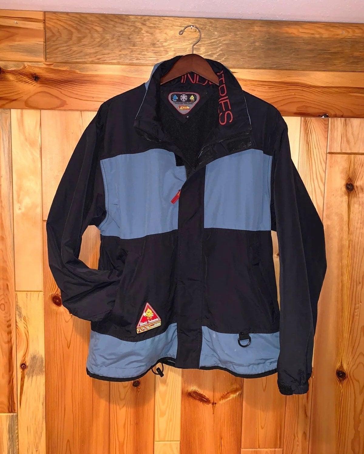 Vtg 90's WORLD INDUSTRIES Bobcat Jacket