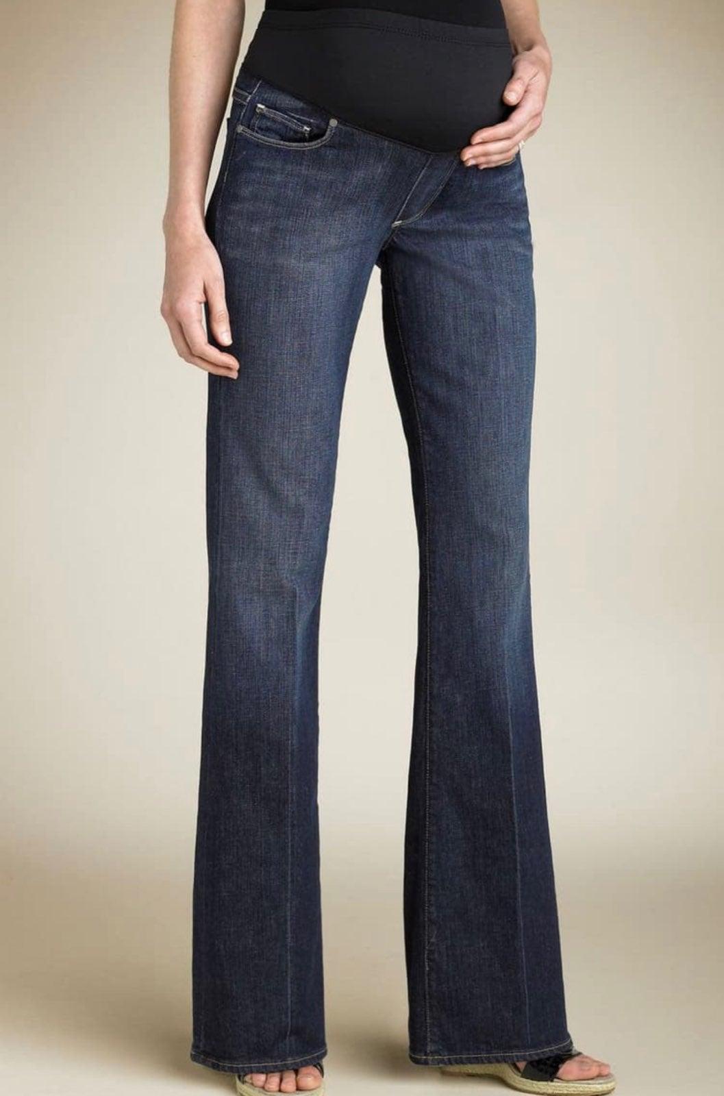 Paige Laurel Canyon Maternity Jeans 34