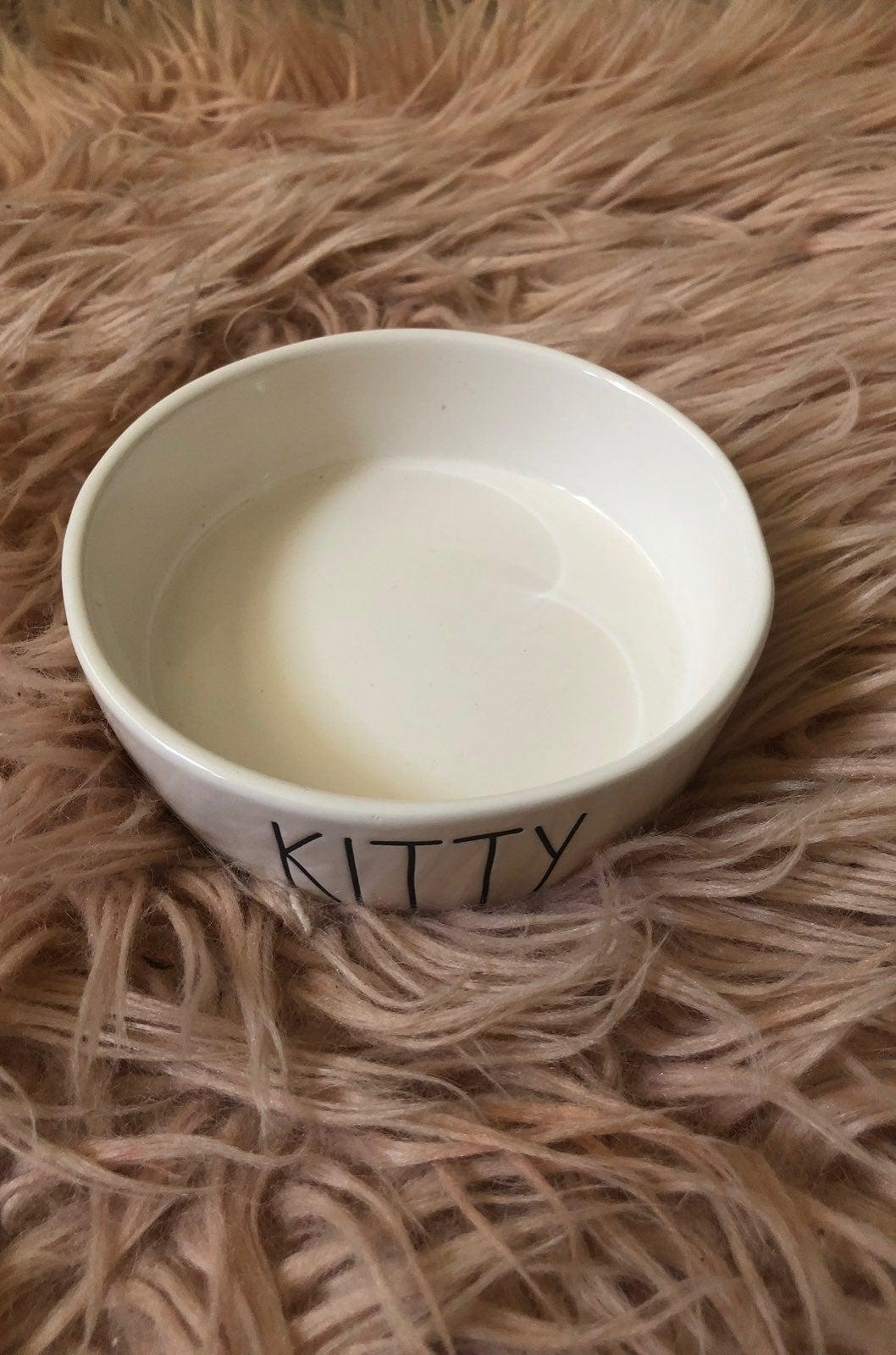 Rae Dunn kitty bowl
