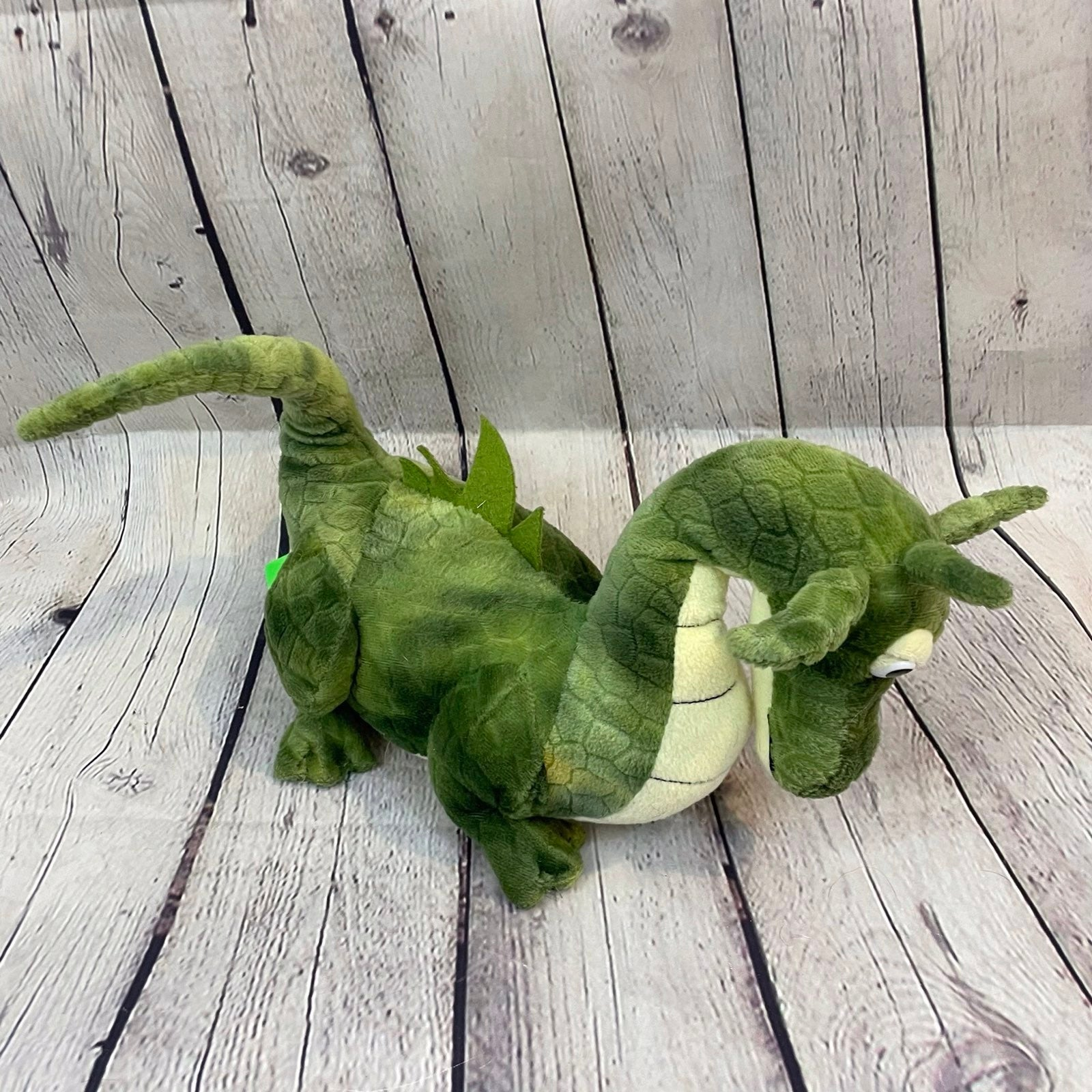Toys R Us Green Dragon Plush