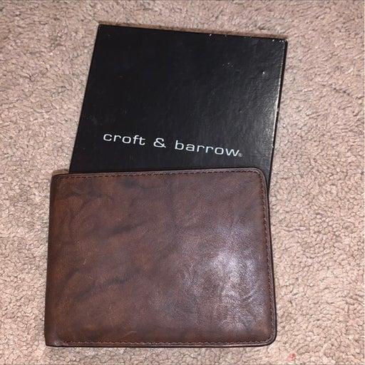 Croft & Barrow NWT wallet mens