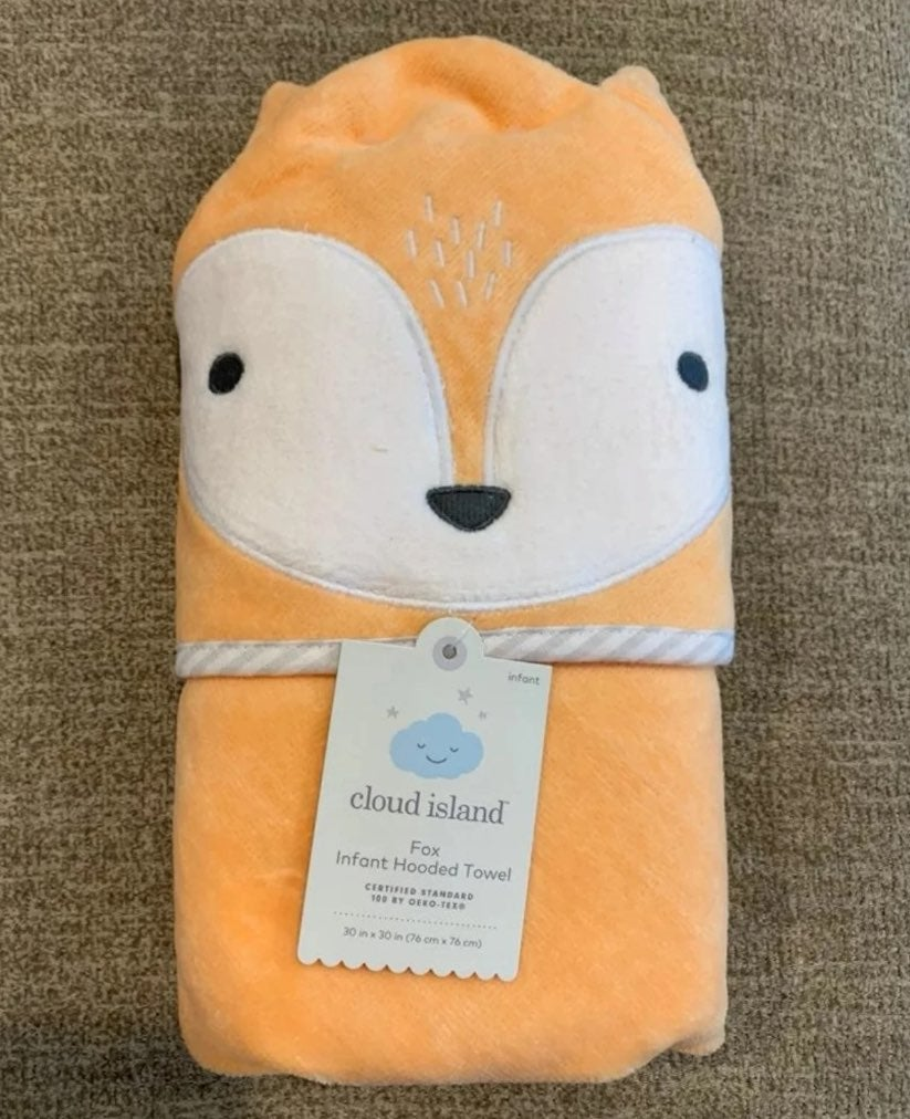 NWT Infant/Toddler Hooded Fox Towel