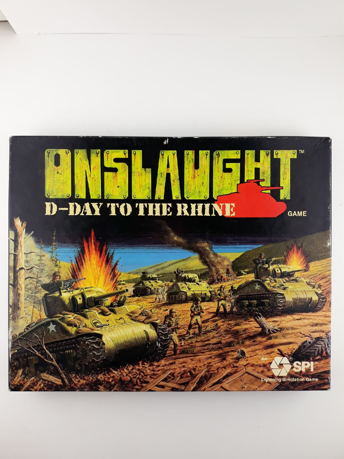 Onslaught D-Day To The Rhine