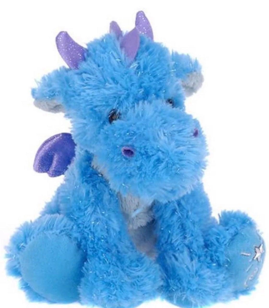 Shining Stars Blue Dragon Stuffed Animal