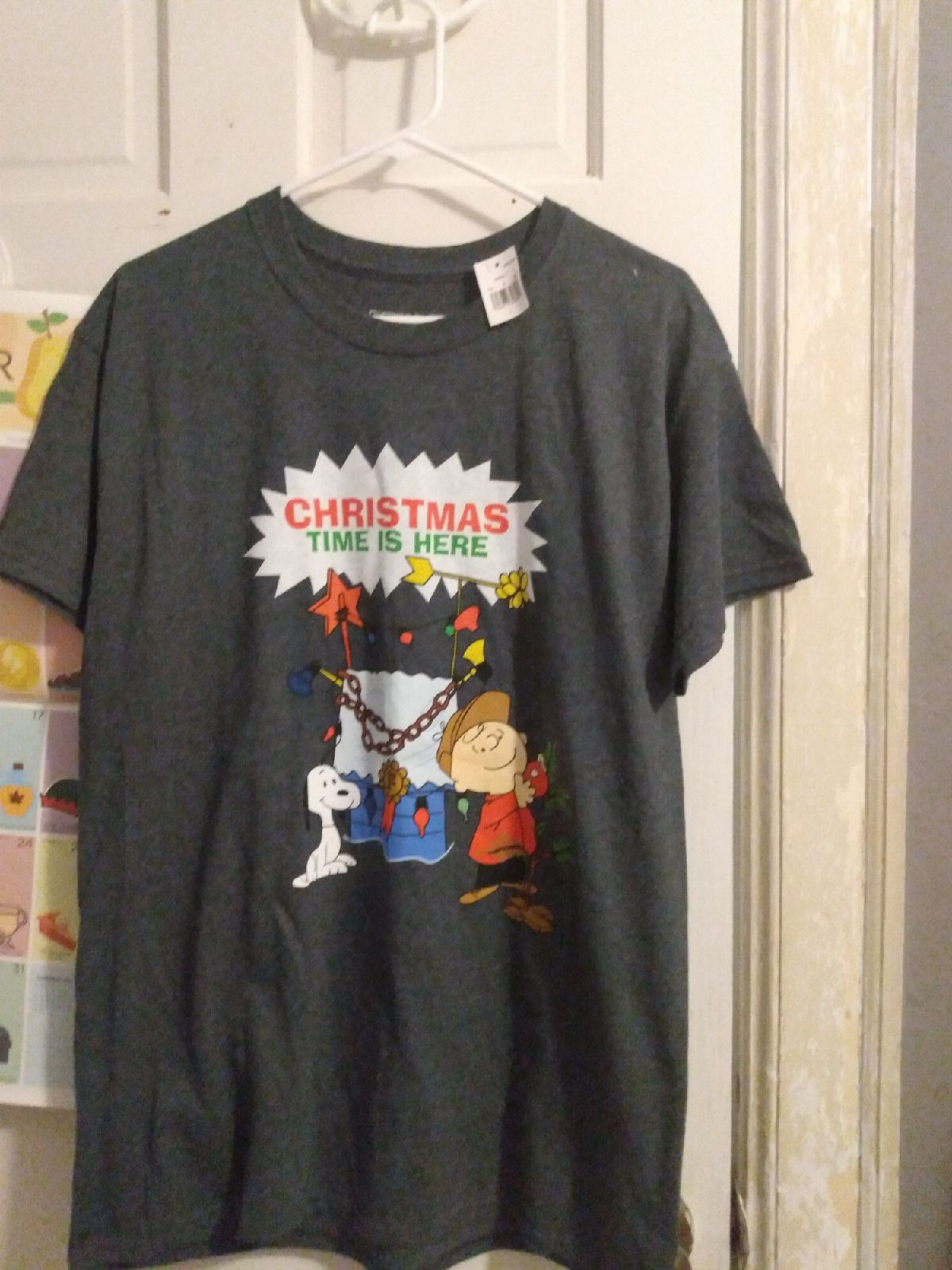 NWT Men's Charlie Brown Peanuts T-shirt