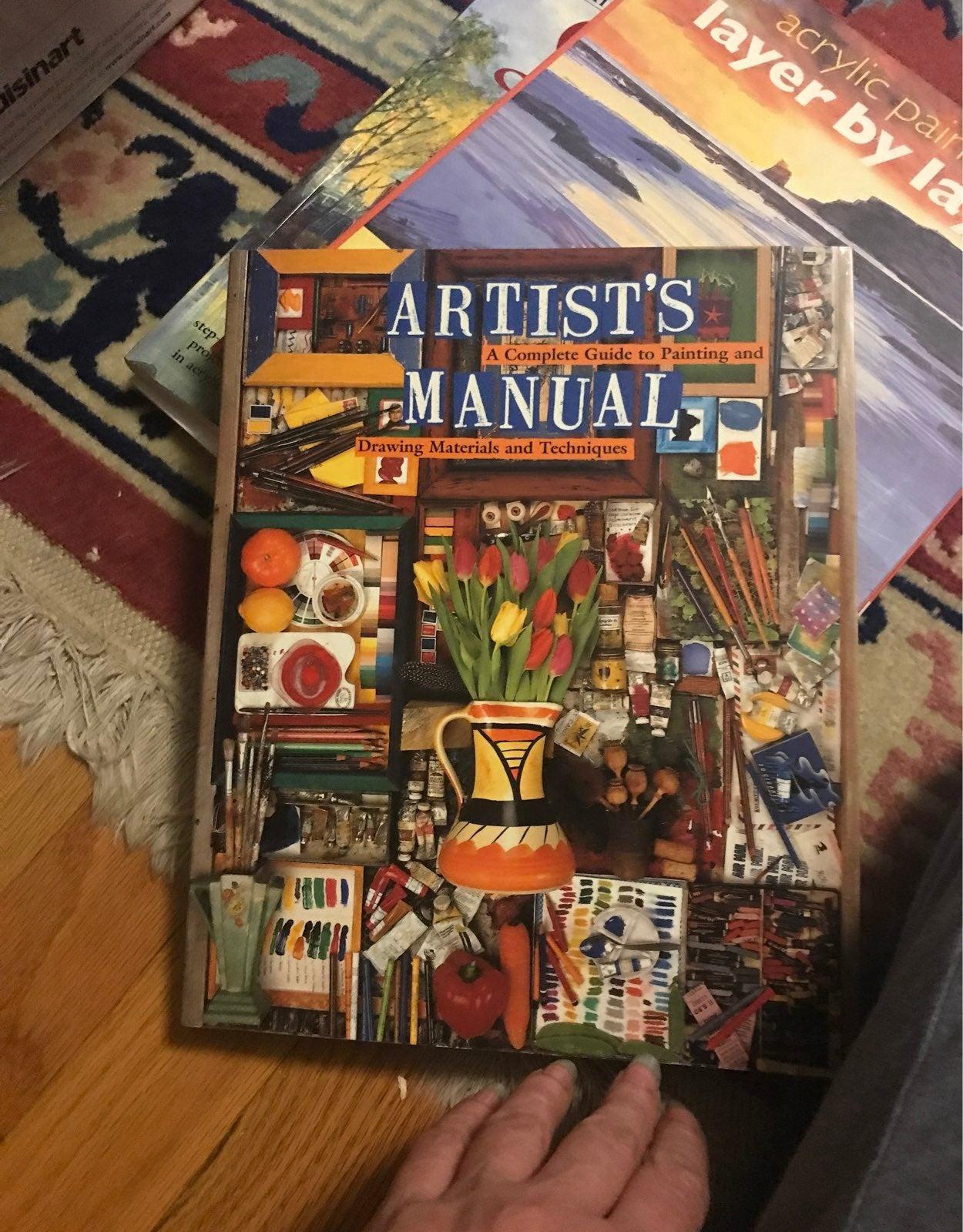 Artist's Manual Book