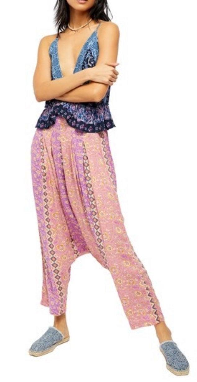 M Free People Haley Harem Lounge Pants B