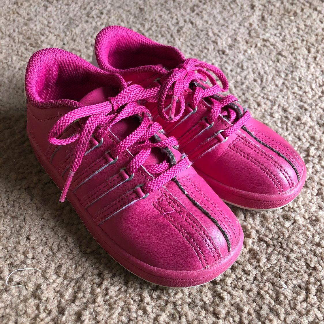 Pink Girls Size 10 K-Swiss Sneakers