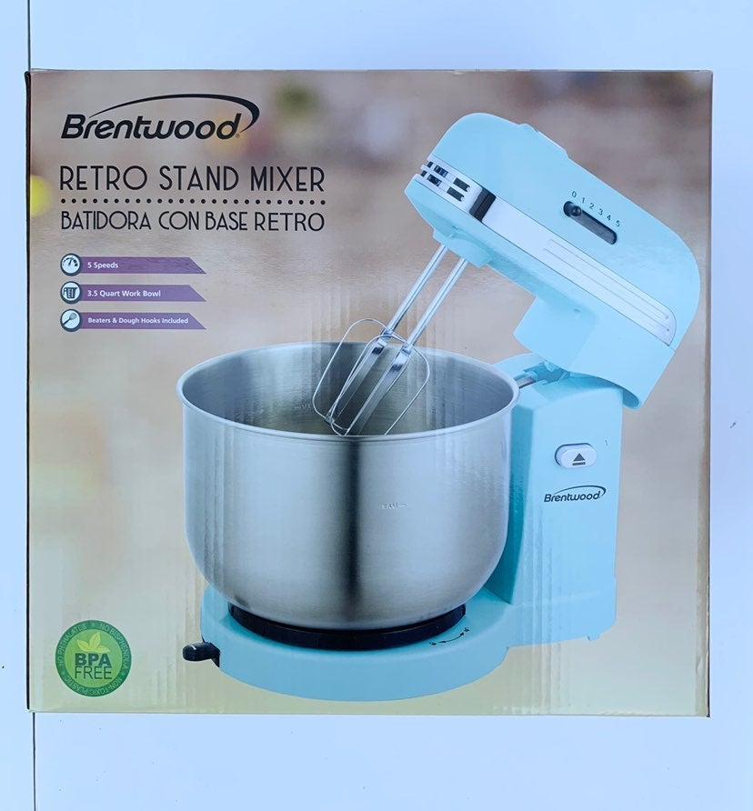 Brentwood 5-Speed Stand Mixer with 3.5 Q