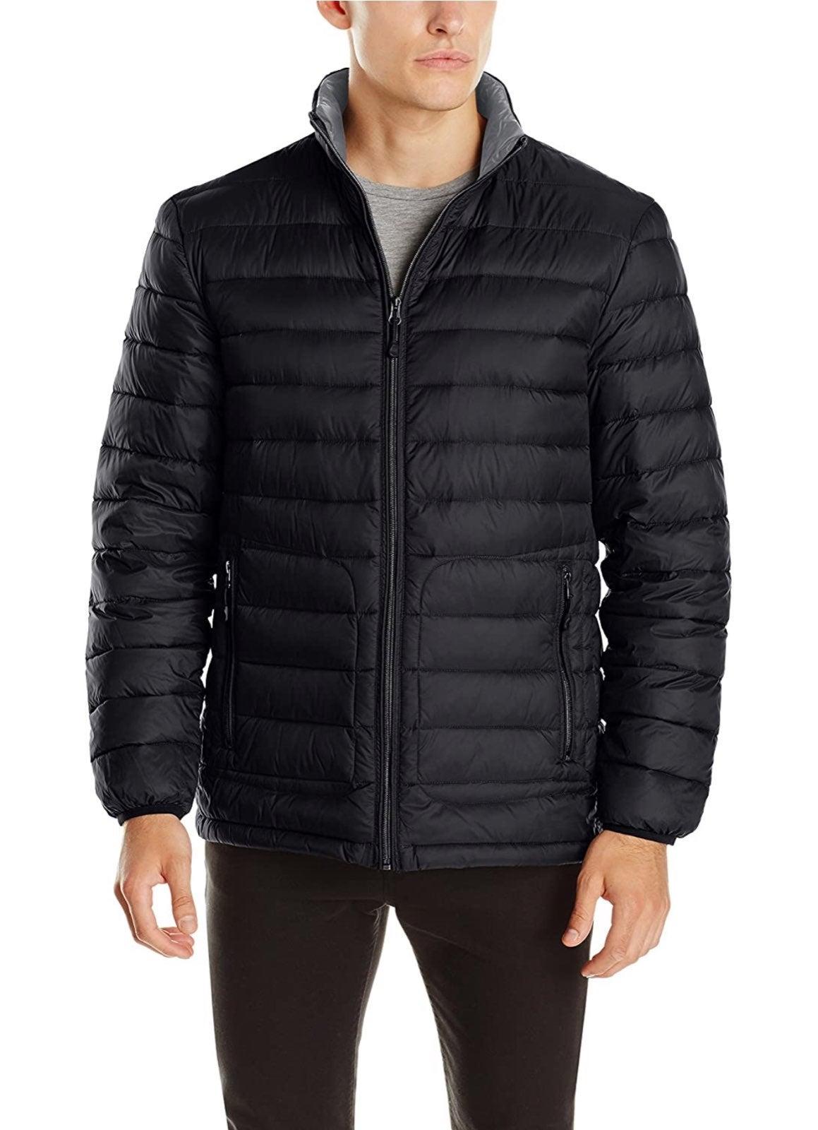 Buffalo David Bitton Black Puffer Jacket