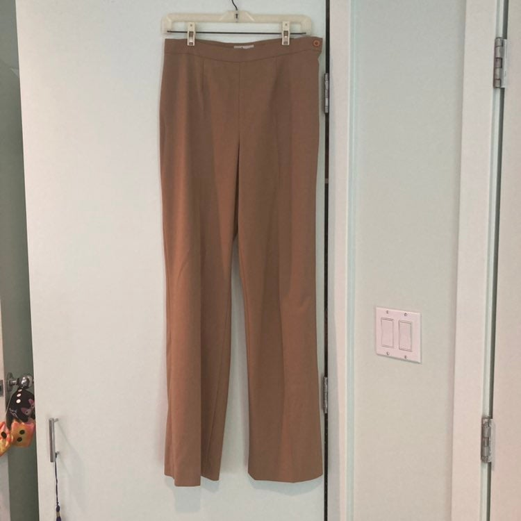 Margaret M women's Dress Pants Caramel