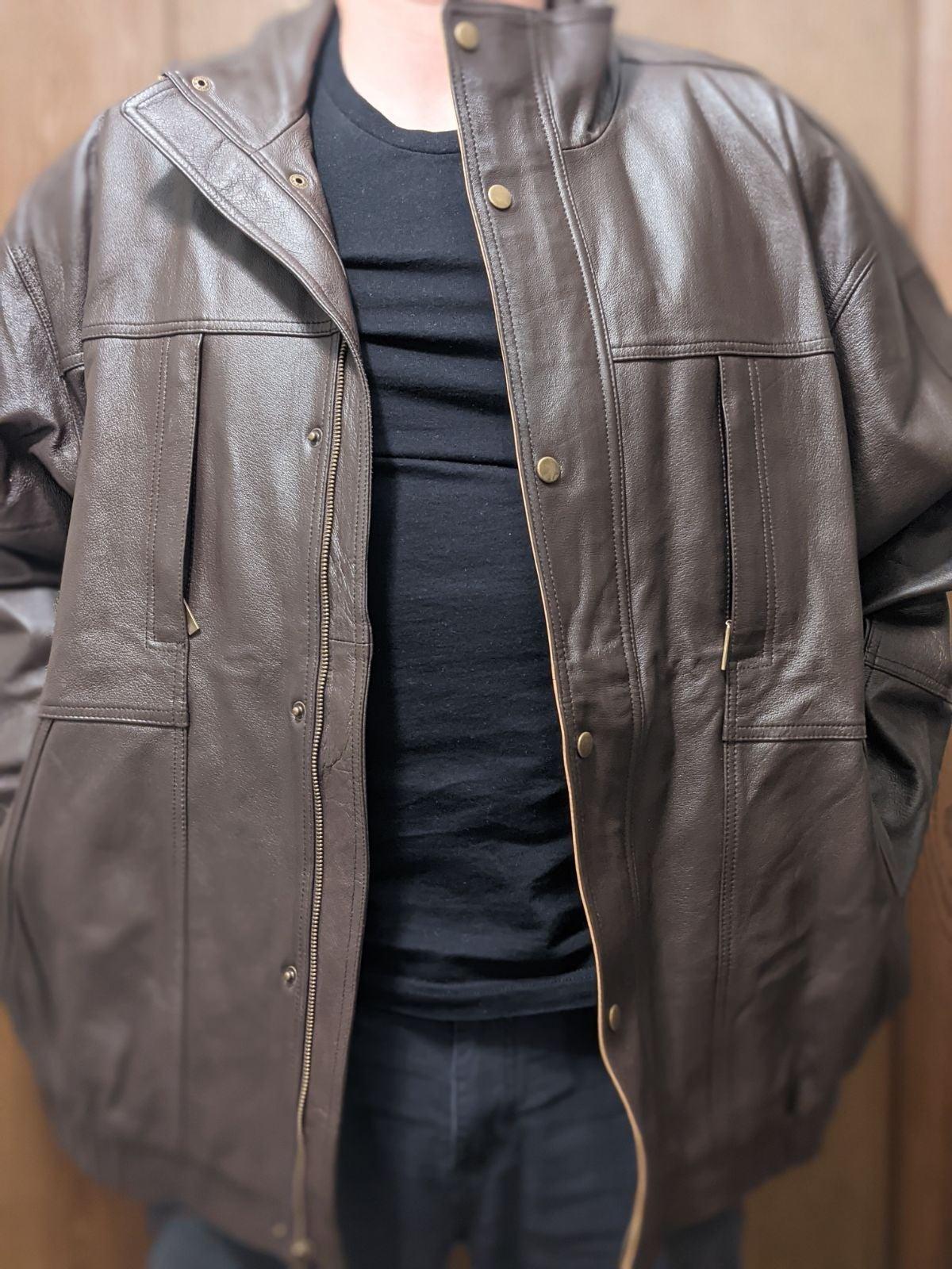 2XL Leather Jacket