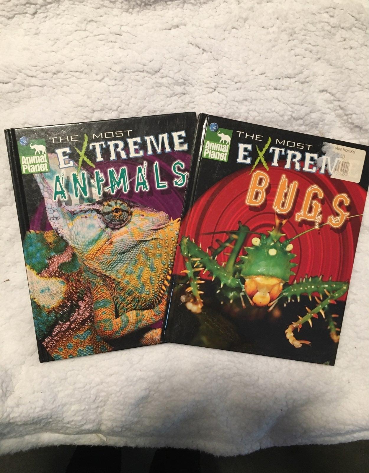 Animal planet books most extreme animals