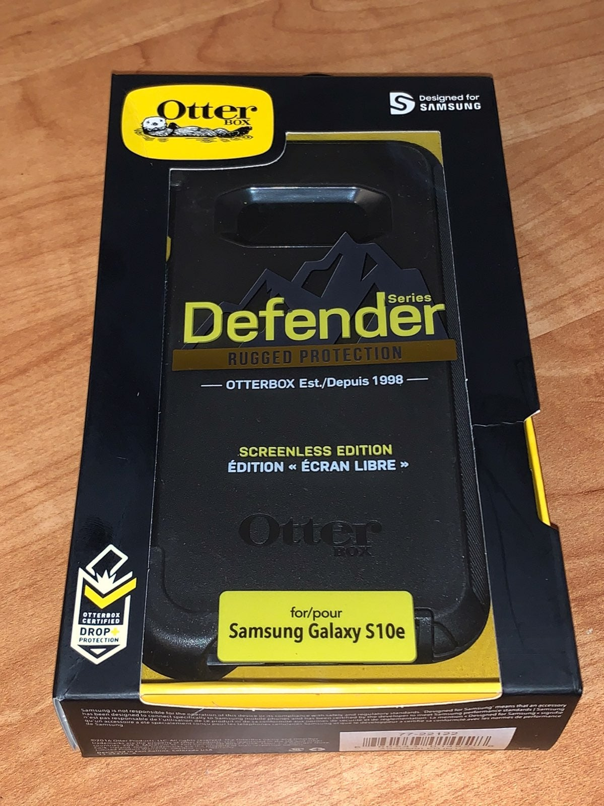 New Samsung Galaxy S10e Otterbox BLK