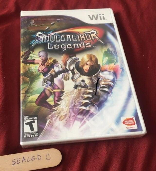 Sealed Soul Calibur Legends Wii