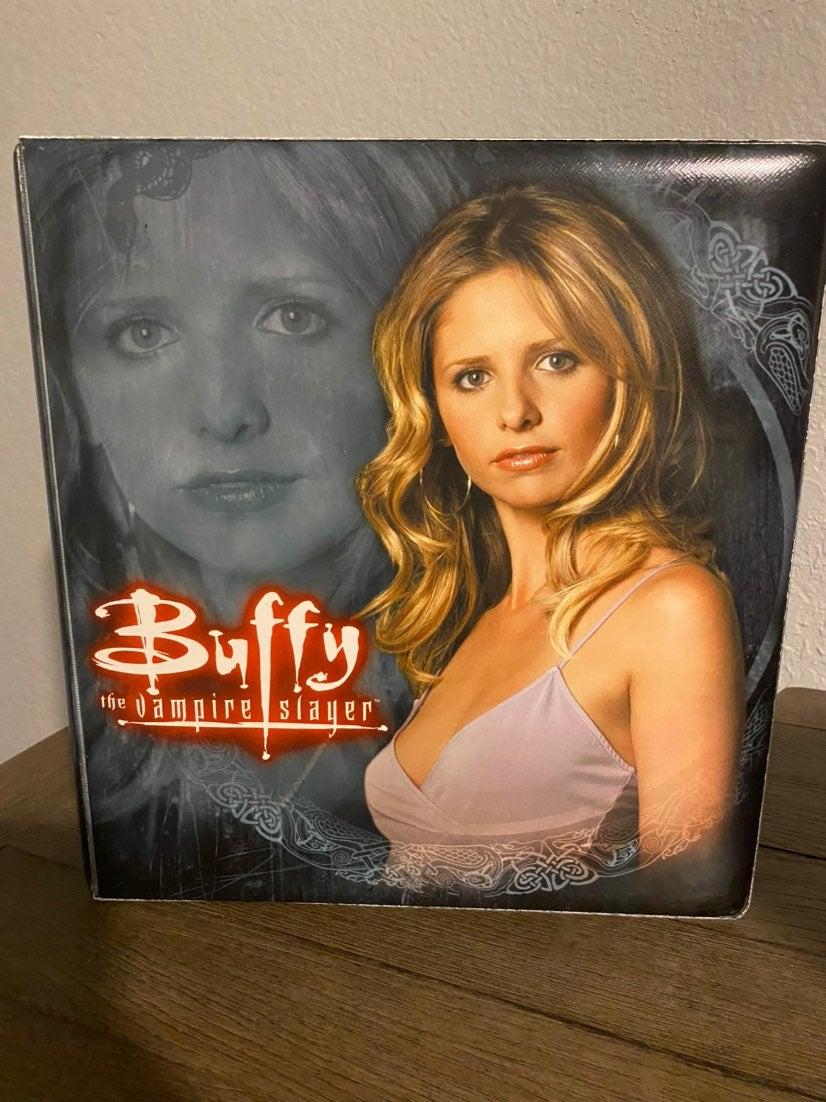 Buffy season 5 trading card binder