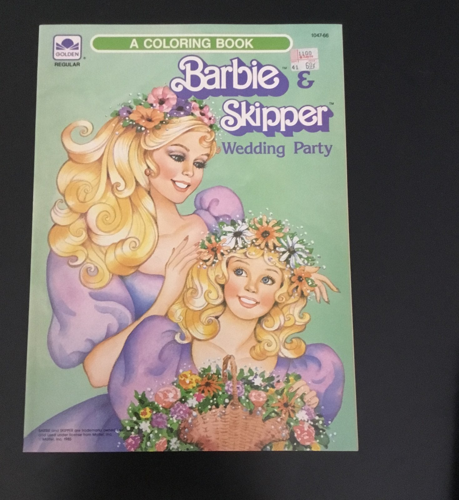Barbie & Skipper Wedding Party coloring