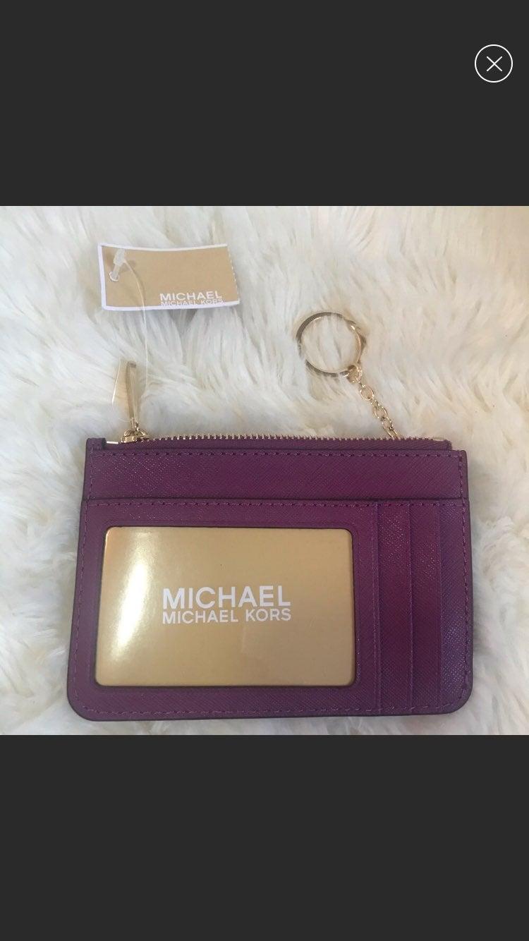 Michal Kors sm Wallet/card holder w/keyr