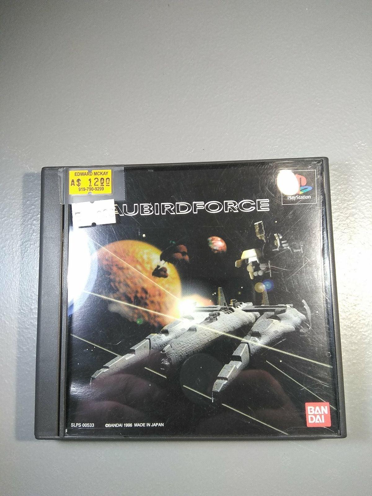 Aubird Force Playstation 1 Japan Import