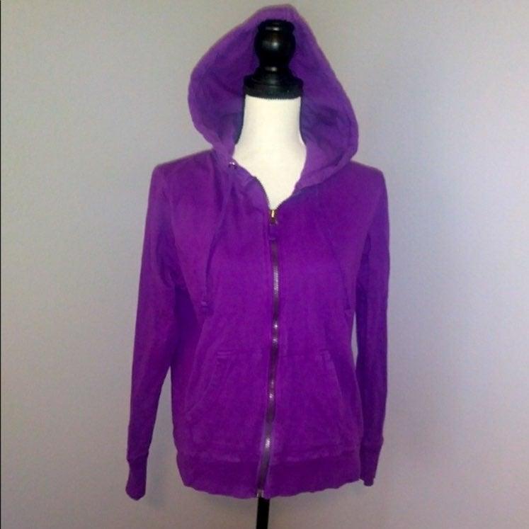 Faded Glory Purple hoodie sweatshirt