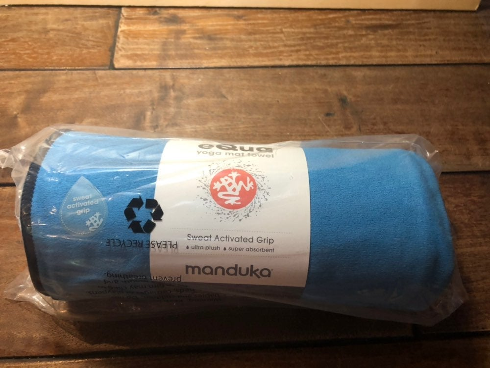 Manduka eQua Yoga Mat Towel Playa