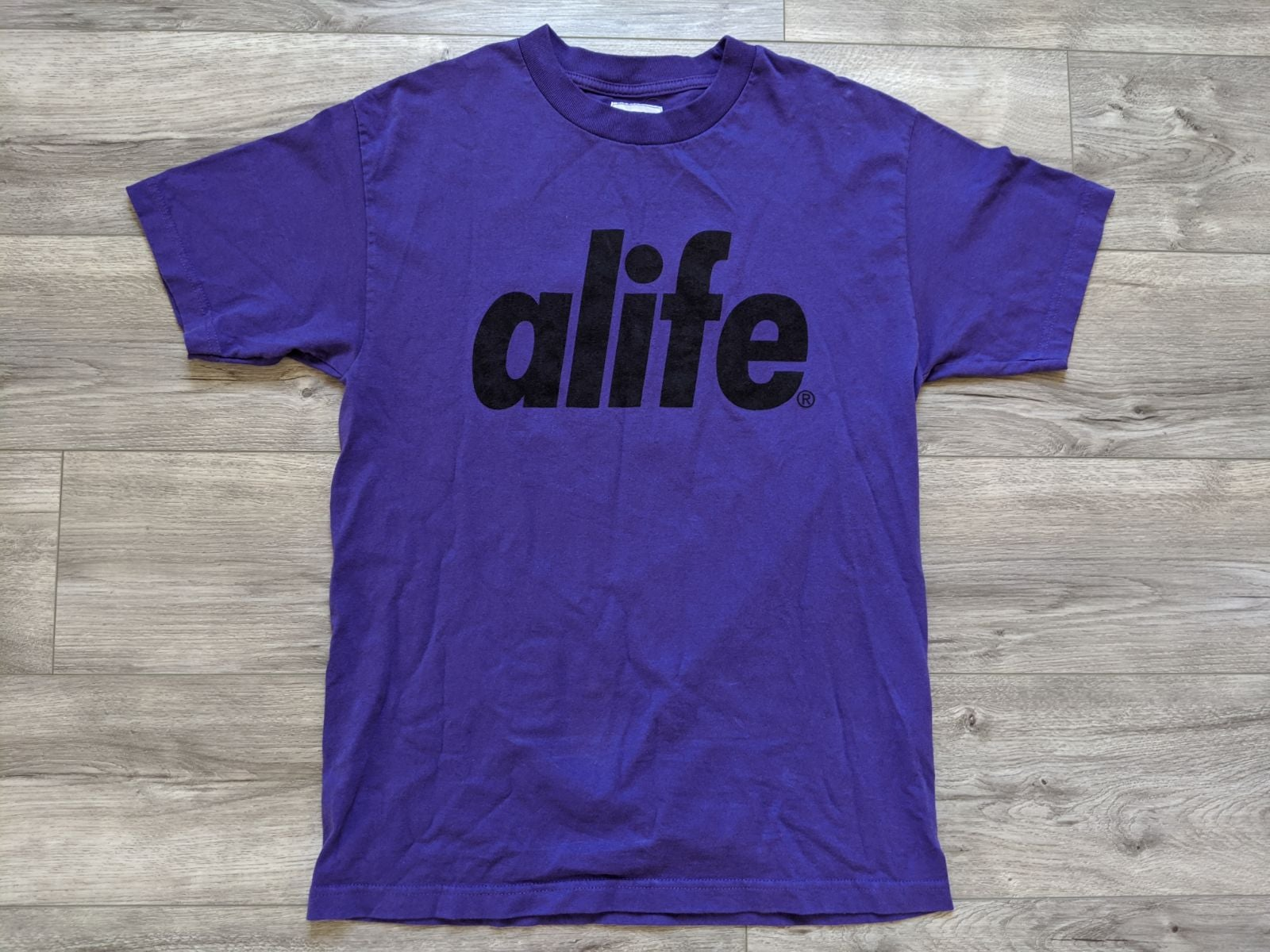 ALIFE Dark Purple Shirt NY represent